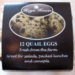 Hugo House Quail Eggs