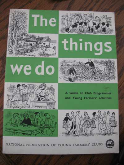 The Young Farmers The Thing We Do Book