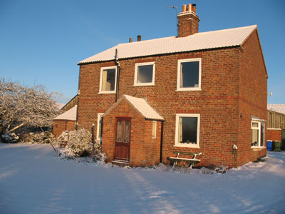 The Farmhouse in the snow December 2009