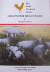 Goats For Beginners By Maggi Franklin
