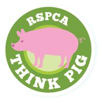 RSPCA Think Pig Logo