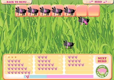 Think Pig Game Screen